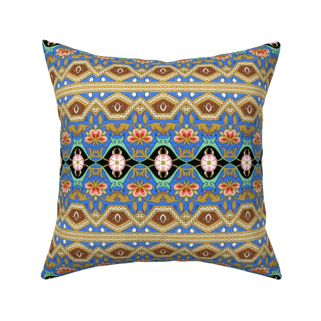 Catalan Throw Pillow featuring Arab Spring by hypersphere