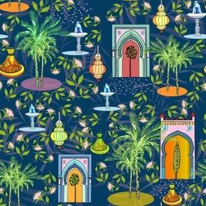 Night in the Medina, by Susanne Mason