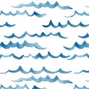 ocean waves / / nursery baby kids simple design
