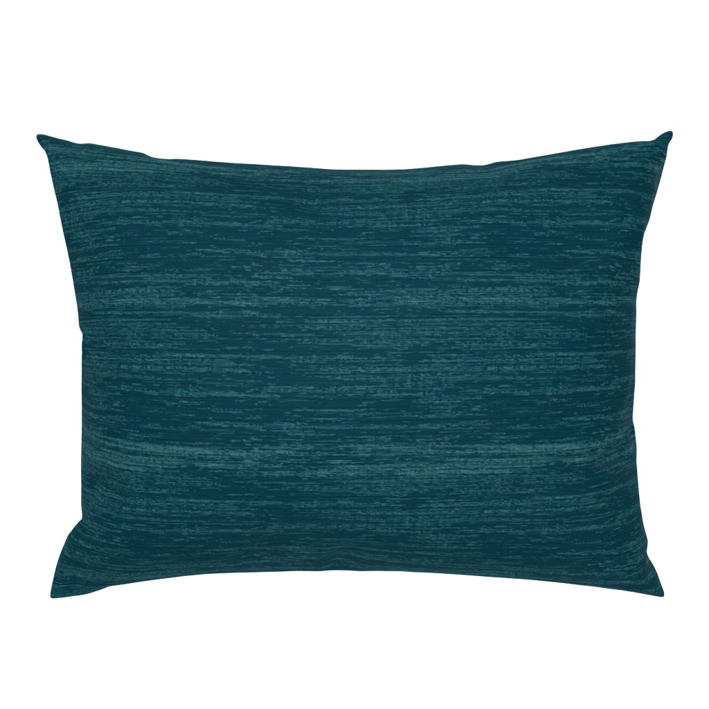 Campine Pillow Sham featuring Deep Blue Linen by sarah_treu