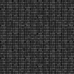 Binary Computer Code <Error> Aiden