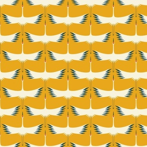 Whooping Crane Migration - Sunshine