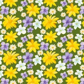 Wildflowers in Oil
