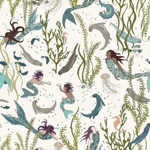 Mermaids and Otters - H White