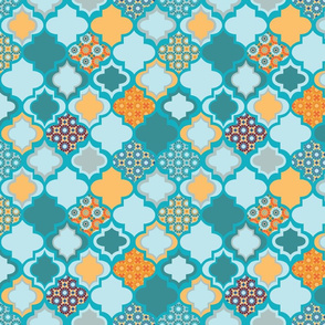 Tiles of Marrakesh