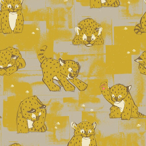 Amur Leopard Cubs by Friztin