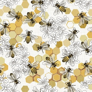 Save The Honey Bees - Large - New