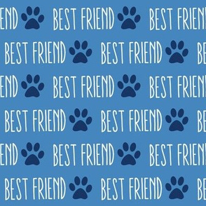 My Best Friend is a Dog Blue