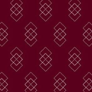 Squares Dancing (small alternating motifs)