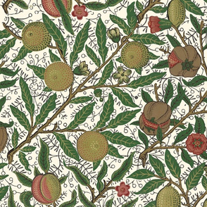Fruit ~ William Morris ~ Original on Cosmic Latte