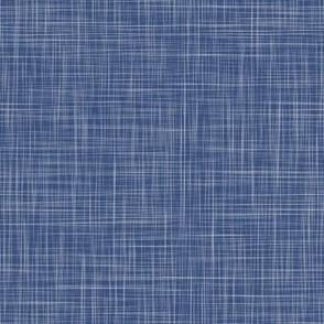Solid Linen - Garden Navy