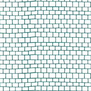 Small Tiles - blue
