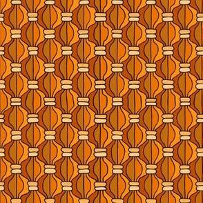 Macrame Madness - Orange