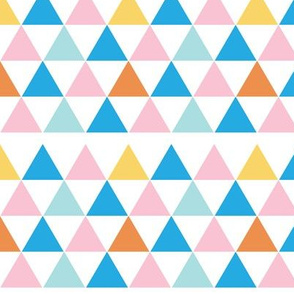 Triangles - White Background
