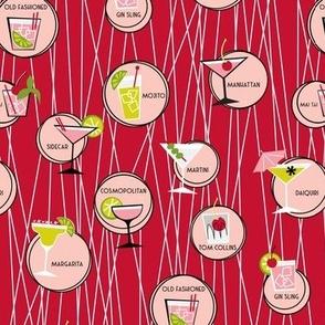 Cocktail Menu (Red)