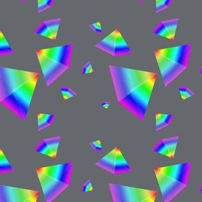 Floating Rainbow Pyramid