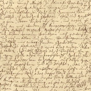 I Thought I'd Write To Juliet  ~ Ink On Parchment