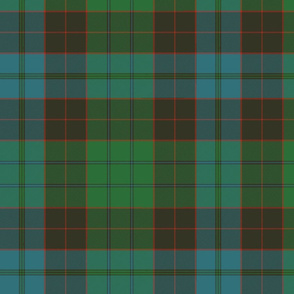 "Stewart of Bute 1963 clan tartan, 12"""
