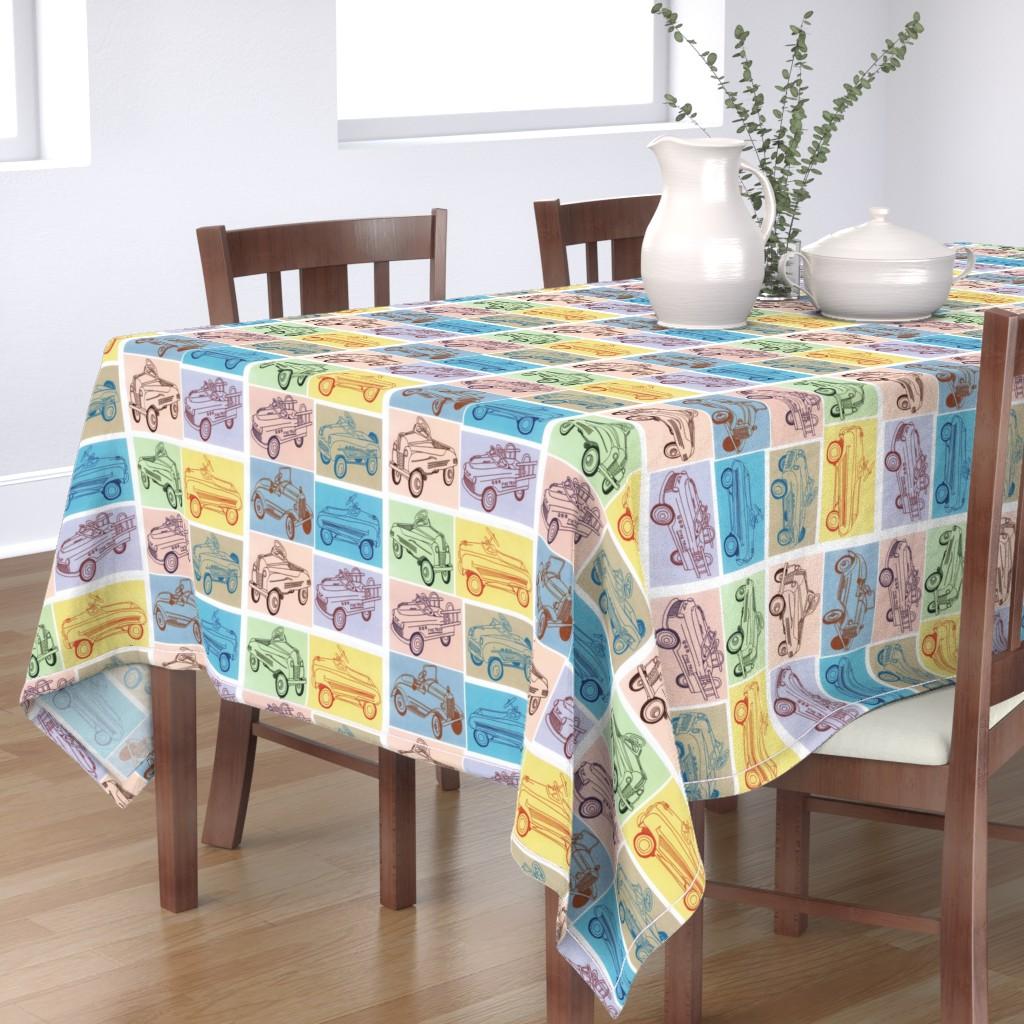 Bantam Rectangular Tablecloth featuring My First Car by edsel2084