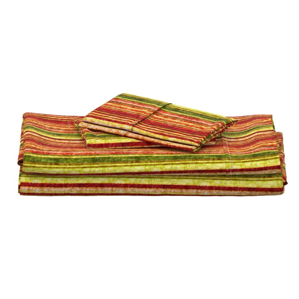 Langshan Full Bed Set featuring Batik Magic #4 by tallulahdahling