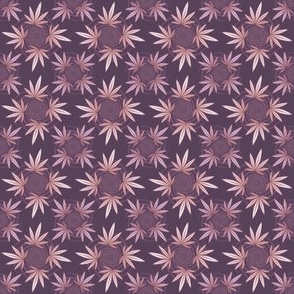 ★ CHECKERED WEED ★ Violet Purple / Collection : Cannabis Factory 2 – Marijuana, Ganja, Pot, Hemp and other weeds prints