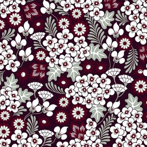 Winter Holiday Floral