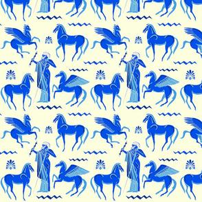Thunder and hooves blue