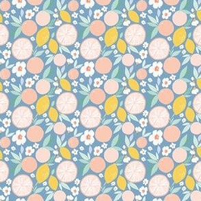 Indy bloom design Grapefruit Lemon A