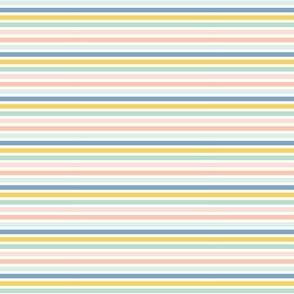 Indy Bloom Design Grapefruit stripes A