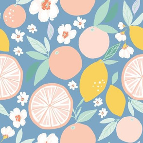 Indy bloom design Grapefruit Lemon C