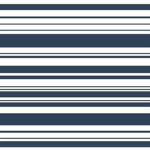 nautical stripes blue lines