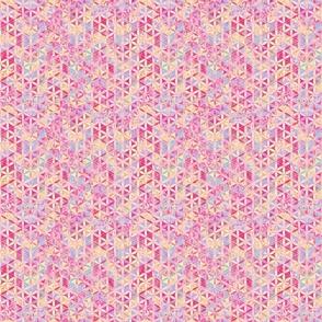Flower-of-Life Paint Pattern Purple