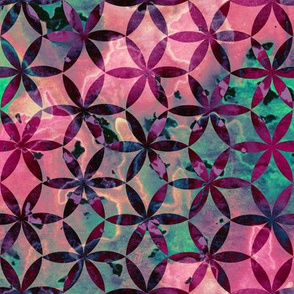 Flower-of-Life Paint Pattern 3