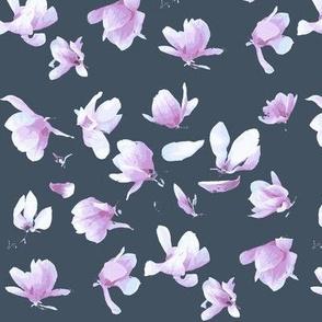 Tulip Magnolia (Dark Grey Blue)