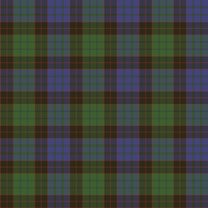 "1819 Stewart old clan tartan, 6"""