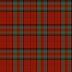 Stewart of Galloway 1842 clan tartan, 6""