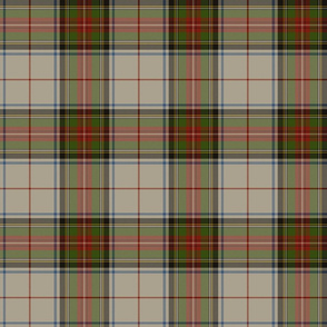 "Stewart Victoria royal tartan, 6"" muted"