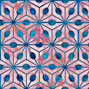 Asterisk Paint Pattern