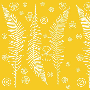 yellow ferns
