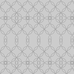 Filigree Lace: Pure Gray Tracery