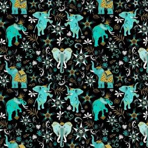 MARRAKESH  ELEPHANTS