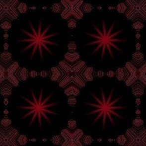 Christmas Star Red