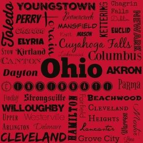 Ohio cities 2, red