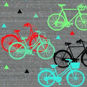 Happy cycling