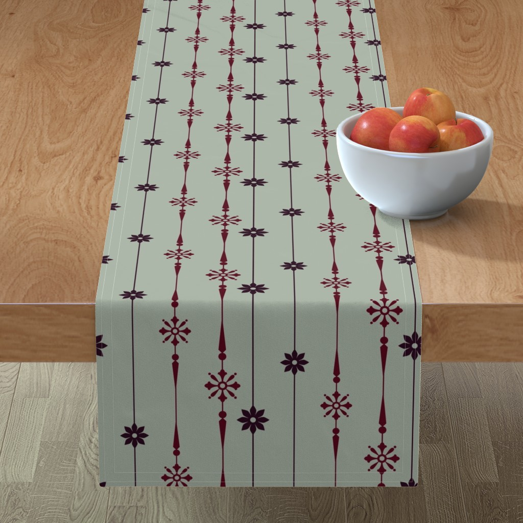 Minorca Table Runner featuring Elegant party by elizabethmay