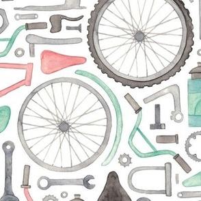 Bike Parts, Cycling Pattern!