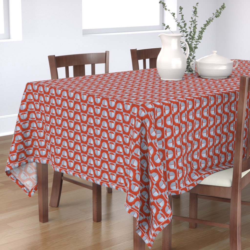 Bantam Rectangular Tablecloth featuring 184Sara19 by miamaria