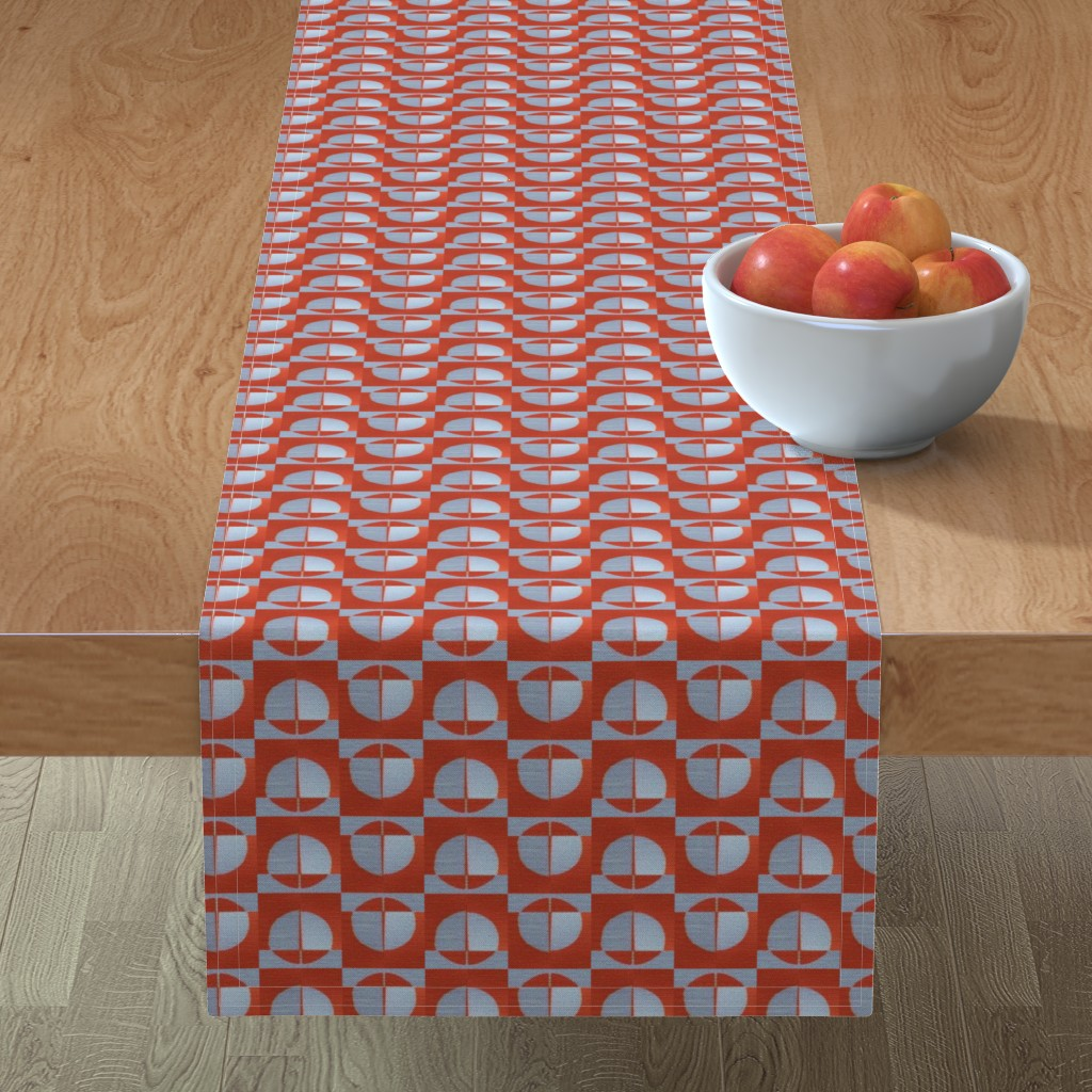 Minorca Table Runner featuring 184Sara19 by miamaria