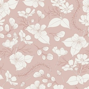 dolls & flowers // green // little matryoshka collection