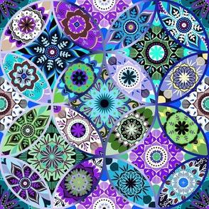 Moroccan bazaar | blue